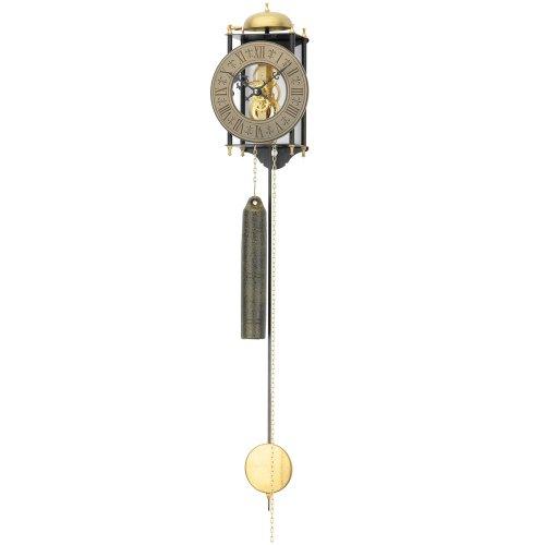 AMS 301 mechanische Skelettuhr antik Schmiedeeisen mit Glockenschlag Wanduhr römische Zahlen Antik Retro Design