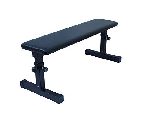 MaxxToys Hantelbank für Gewichtheben – Gewichtheben und Bauchmuskelübungen mit Hantelstange – für Fitnessstudio und Fitness, für Gewichtheben – Kapazität 200 kg - 110 x 45 cm