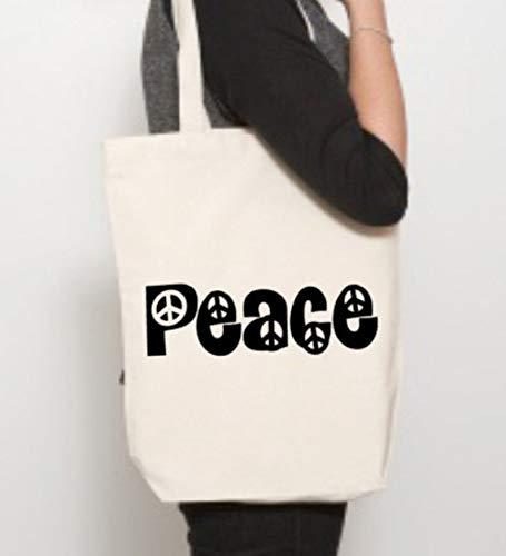 Bolsa de paz, bolsa de paz, regalo para amantes de la paz,...