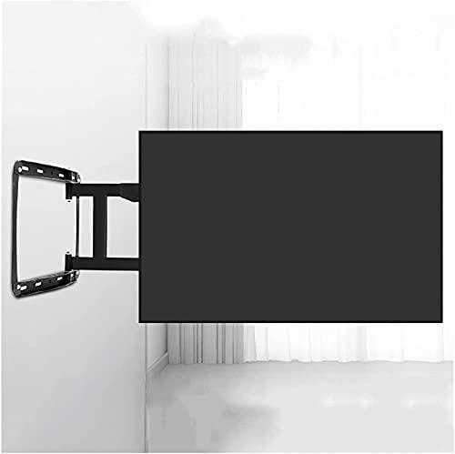 liangzishop Soporte para TV 32 '-75' Soporte para TV montado en la pared Extensión de carga de cuatro brazos Rotación de inclinación Soporte universal para montaje en pared fijo para TV, Max VESA 400x