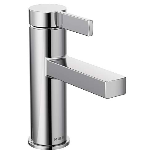 Moen 84774 Beric One-Handle Single Hole Bathroom Faucet, Chrome