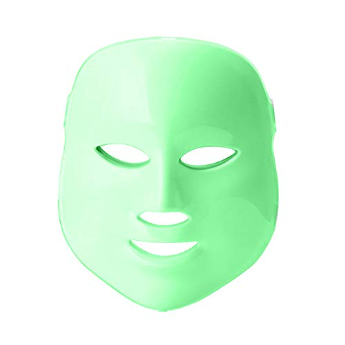 Mascara led facial profesional 7 colores Terapia luz de fotones para tratamiento...