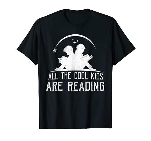Todos los niños geniales están leyendo libros camiseta Camiseta