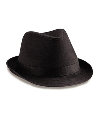 Beechfield -  Cappello Fedora  - Uomo nero L