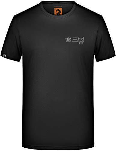 EBM Fun T-Shirt - Parody Front Line Assembly Front 242 Nitzer Ebb E.B.M. (Black/Wash Icons - Small, 5XL / XXXXXL)