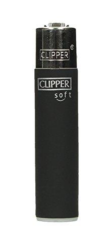 Clipper® Feuerzeug - Edition Soft-Touch - Black