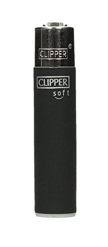 Clipper® Feuerzeug - Edition Soft-Touch - Black