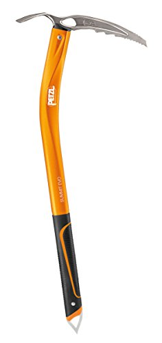 PETZL - Summit EVO, Technical Ice Axe for Classic Mountaineering, 52 cm