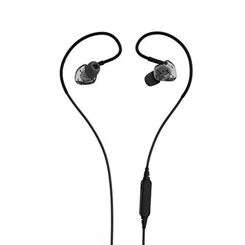 Alikeey Draadloze hoofdtelefoon Bluetooth headset 4.1 subwoofer zweetremmende in-ear sport draadloze headset oortelefoon voor iPhone, iPad, Samsung, Huawei, xiaomi en meer zwart