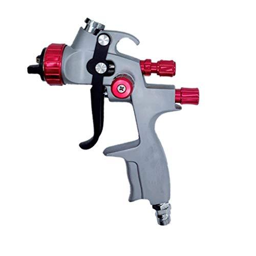 LVLP Gravity Luftpistole, 600 Ml Hand Airbrush Painting Tool Kit With1.3MM Düse Für Malerei Autos Aerograph-Werkzeug