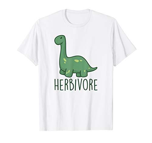 Herbivore Brachiosaurus Dinosaur Funny Vegetarian Gift T-Shirt