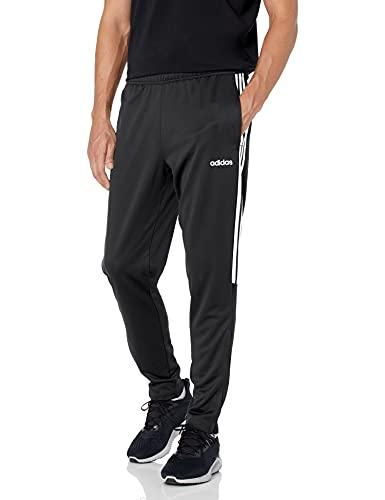 adidas Men's Sereno 19 Training Pants,Black/White,Large