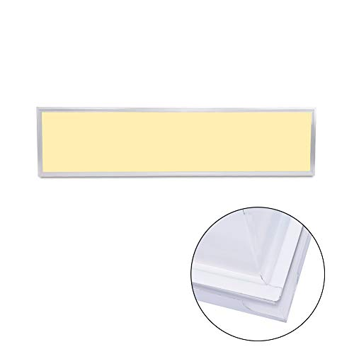 Wheey Techo LED de Panel Plano Teja Panel Downlight, Cuerpo Blanco, Blanco Caliente/frío Blanco de la lámpara/Naturaleza para el hogar Oficina Comercial de iluminación,Ma0108513
