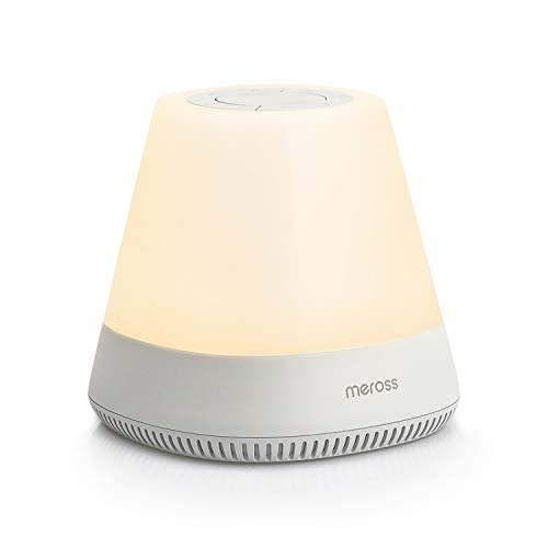 Baby Night Light Sound Machine, Meross Smart White Noise Machine, Toddler Sleep Trainer, 11 Soothing Sounds, 2700-6500K RGB Night Light for Kids, Works with Alexa and Google Assistant, APP Control