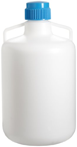 SP Bel-Art Autoclavable Polypropylene Carboy Without Spigot; 20 Liters (5.3 Gallons) (F10794-0050)