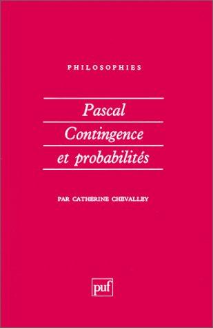 Pascal contingence et probabilites