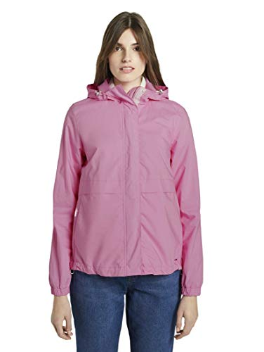 Tom Tailor Denim Windbreaker Cortavientos, 22340/Bright Pink, M para Mujer