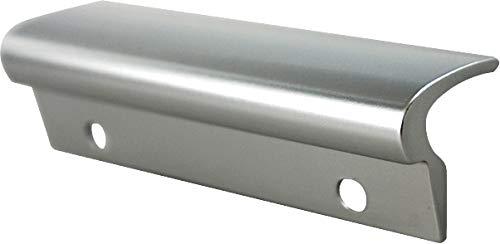 MS Beschläge® Glasfalzgriff Terassentürgriff Balkontürgriff Ziehgriff aus Aluminium (Silber eloxiert)