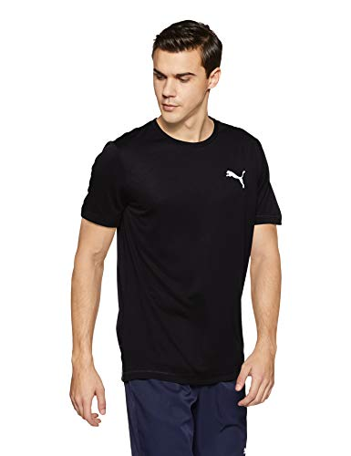 PUMA Herren T-Shirt Active Tee, PUMA Black, XL, 851702