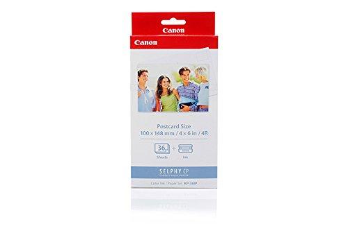 Original Canon 7737A001 / KP-36IP Tinte Color incl. 36 Blatt 100x148mm für Canon Card Photo Printer CP 300