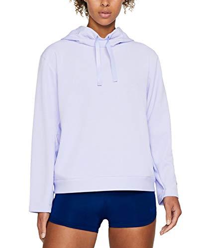 Nike Women's Dri-FIT Fleece Training Hoodie, Lavender, Small