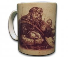 Lokis Truhe Große Tasse Kaffee Becher Pott Mug Wikinger Kampf Nordmänner Nordische Mytholie Götter Walhalla Asgard Ragnarök