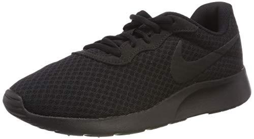 Nike Tanjun, Scarpe da Ginnastica Basse Uomo, Black (001 Black), 42 EU