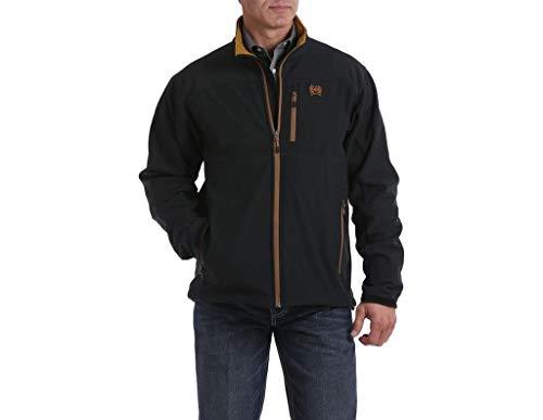 Cinch Men's Solid Bonded Concealed Carry Jacket Black X-Large