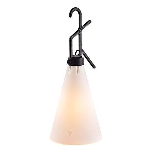 Lámpara de mesita de noche Nordic Creative Lámpara de mesa portátil de múltiples funciones Sala de estudio Dormitorio Tipo de gancho Lámpara de mesa Interruptor de botón Dos colores Opcional Luz cálid