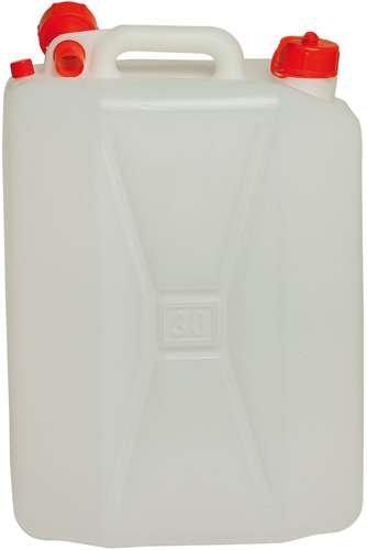 Tanica in Plastica PVC anche per Alimenti PE 25 Litri confezione da 4 pezzi