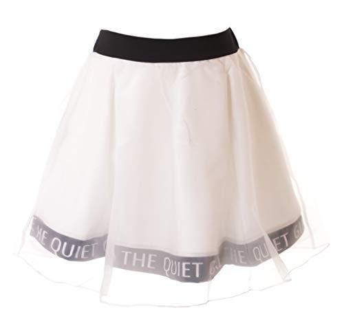 TR-20 wit zwart organza sportieve mini rok pastel god