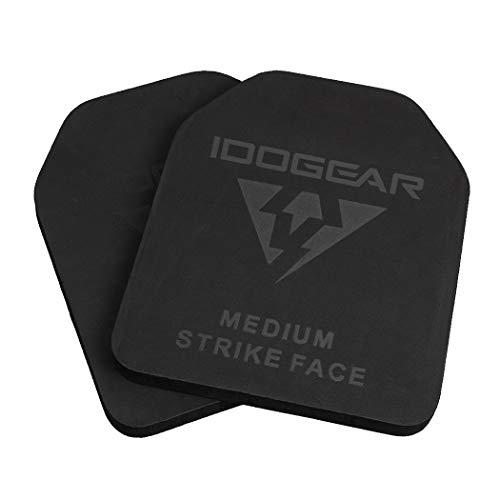 IDOGEAR Tactical Plate EVA Foam SAPI Plate for Tactical Vest Inner Liner Foam SAPI Shock Plate Medium Size 2 PCS