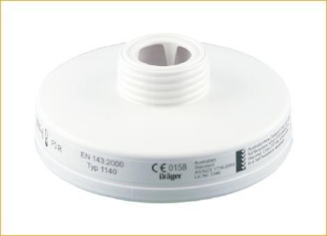 Dräger 1140P3R Filter Partikel PLORE RD40Für Masken Rundgewindeanschluss (EN 148–1