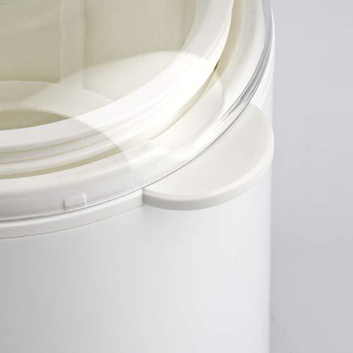 Girmi YG02 Yogurtiera, 20 W, 1.5 Litri, Plastica, Bianco