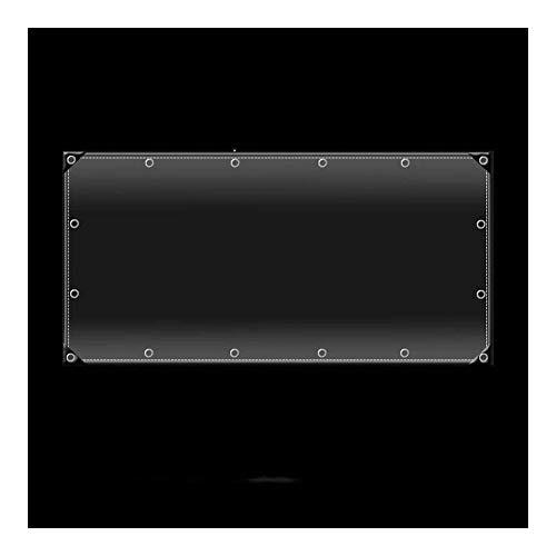 ZX XZ Solarium Usine Anti-Pluie Ultra-épaisse Fusion de la Chaleur en Verre Fuite d'eau sans PVC Souple imperméable Robuste à Haute Transparence (Color : Clear, Size : 2x5m)