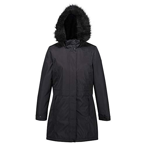 Regatta Women's Lexis Waterproof Breathable Taped Seams Lined Insulated Hooded Jacket Jacket