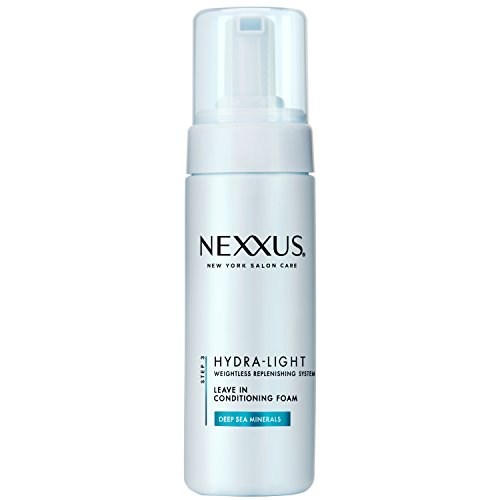 Nexxus Hydra-Light Leave-In Foam, for Normal to Oily Hair 5.5 oz