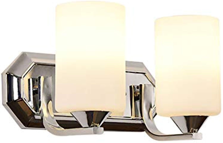 GaoHX Wandlampe Wandleuchte, Bettlampe-Wohnzimmerlampen-Schlafzimmerlampen-Ganglichter der einfachen modernen Mode kreative (Farbe   Chrome B)