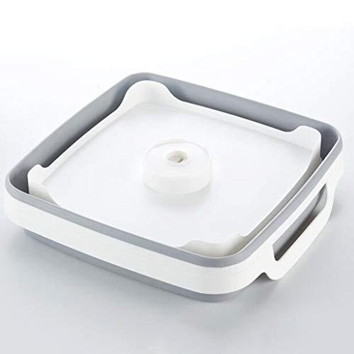 Sisyria Foldable Fruit Drain Basket Vegetables Washing Bowl, Multifunction Tableware Storage Container Space Saving Draining Basket