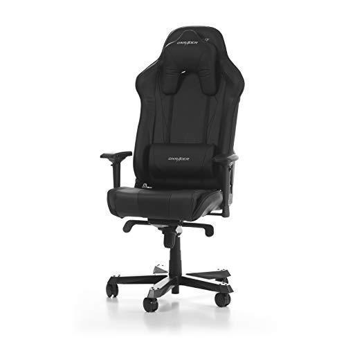DXRacer (das Original) Sentinel S28 Gaming Chair für High End PC/PS4/XBOX/Nintendo, ergonomischer Schreibtischstuhl fürs Büro aus Kunstleder, Schwarz