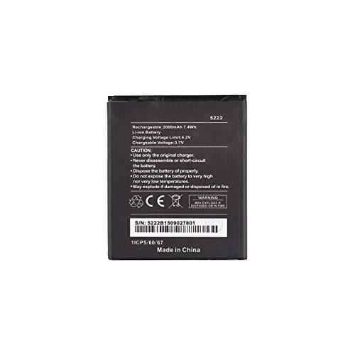 Pattaya WIKO 5222 - Batería compatible con Wiko Rainbow Jam 4G / Rainbow Lite