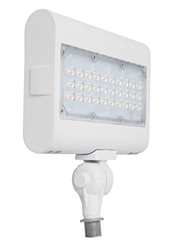 Westgate - Foco LED de inundación con soporte para nudillos – mejor fijación de seguridad para exteriores, patio, jardín, focos de seguridad – UL
