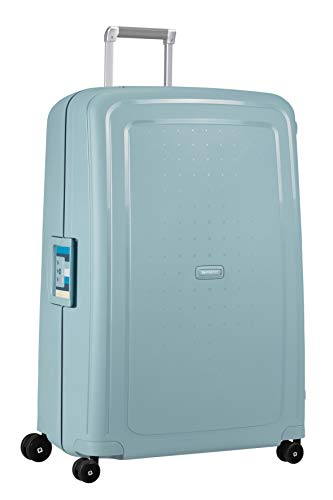 Samsonite S'Cure - Spinner XL Koffer, 81 cm, 138 L, blau (stone blue stripes)