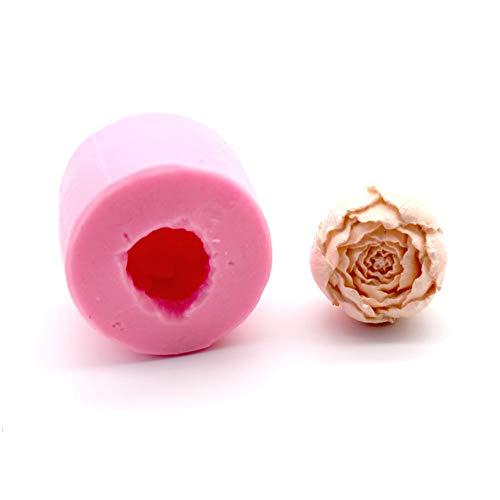 Moule en Silicone 3D en Forme de Rose pour décoration de gâteaux - Rose