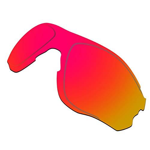 HKUCO Reforzarse Lentes de repuesto para Oakley EVZero OO9308 Gafas de sol Rojo TAC Polarizado
