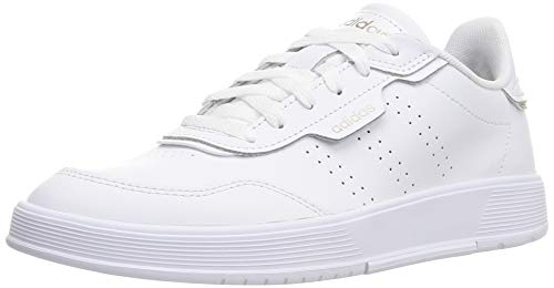 adidas COURTPHASE, Zapatillas Mujer, Ftwwht Ftwwht Chamet, 37 1/3 EU