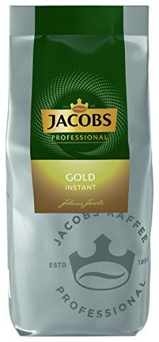 Jacobs Professional Gold Löslicher Bohnenkaffee Instant Kaffee, feiner Körper mit dezenter Säure, 500 g