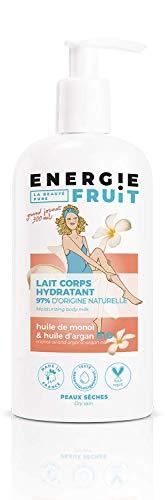 Energie Fruit Lait Hydratant sans Silicone Monoï/Huile d'Argan Bio