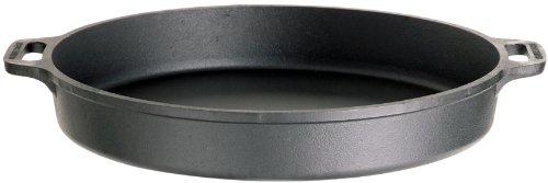Gusseisenkuss Pfanne aus Gusseisen, Schwarz, Ø 50 cm