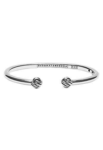 Boeddha to Boeddha damesarmband 925 zilver één maat zilver 32005776